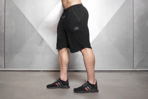 Body Engineers - OBLIQUE Prometheus Shorts – Black Out - Seitlich