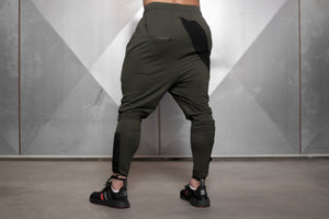 Body Engineers - RONIN Prometheus Jogger 2.0 – Army Green - Rückseite