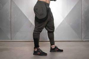 Body Engineers - RONIN Prometheus Jogger 2.0 – Army Green - Seitlich