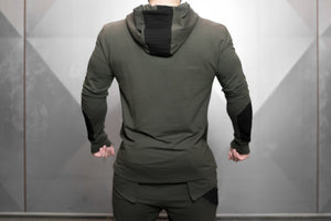 Body Engineers - RONIN Prometheus Vest – Army Green - Rückseite