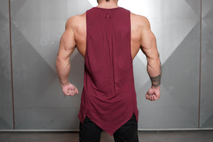 Body Engineers - Ravic Prometheus Tank 3.0 – Bordeaux Red - Rückseite