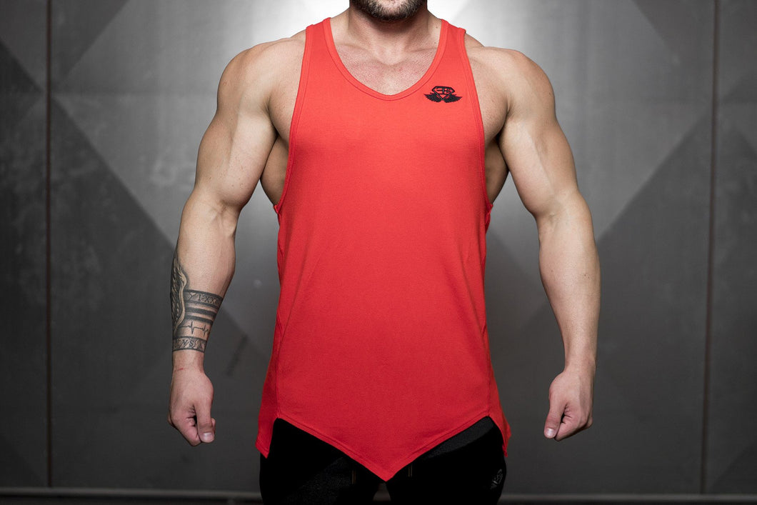 Body Engineers - Ravic Prometheus Tank 3.0 – Fire Red - Vorderseite