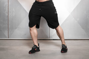 Body Engineers - SVGE Prometheus Shorts - Black Out - Vorderseite