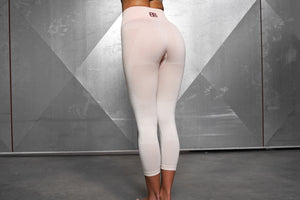 Body Engineers - Valkyrie Seamless Legging High Waist 7/8 – Nude - Rückseite