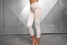 Body Engineers - Valkyrie Seamless Legging High Waist 7/8 – Nude - Vorderseite
