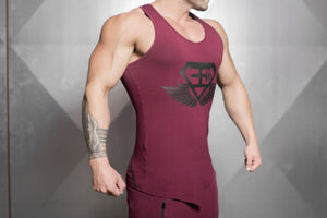 Body Engineers - XA1 Prometheus Stringer 2.0 – Bordeaux Red - Seitlich