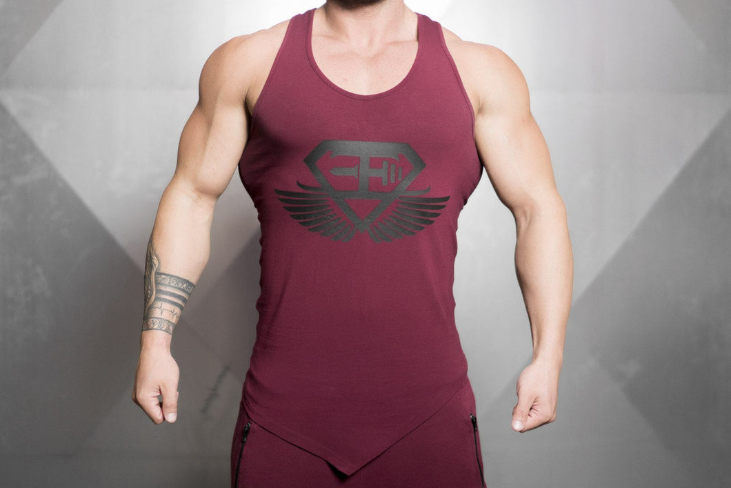 Body Engineers - XA1 Prometheus Stringer 2.0 – Bordeaux Red - Vorderseite