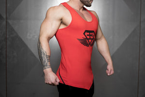 Body Engineers - XA1 Prometheus Stringer 2.0 – Fire Red - Seitlich