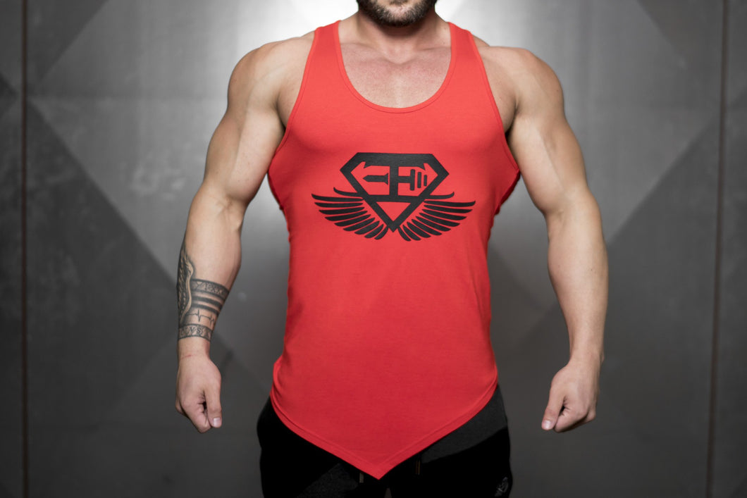 Body Engineers - XA1 Prometheus Stringer 2.0 – Fire Red - Vorderseite