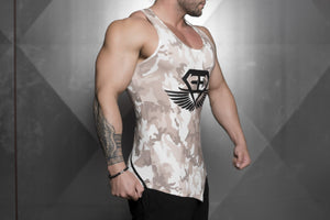 Body Engineers - XA1 Prometheus Stringer 2.0 – Sand Camo - Seitlich