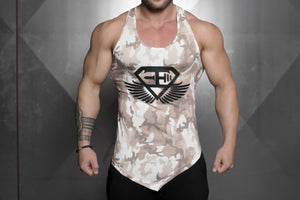 Body Engineers - XA1 Prometheus Stringer 2.0 – Sand Camo - Vorderseite