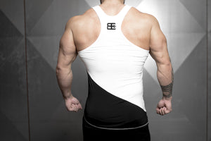 Body Engineers - XA1 Prometheus Stringer – Contrast White Top - Rückseite