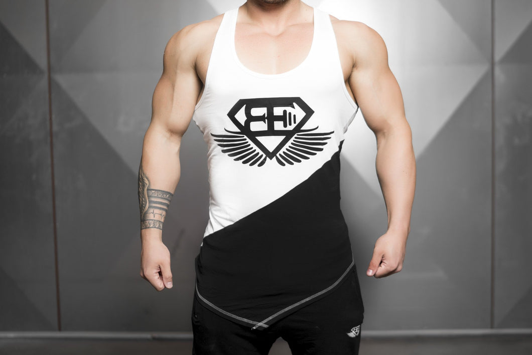Body Engineers - XA1 Prometheus Stringer – Contrast White Top - Vorderseite