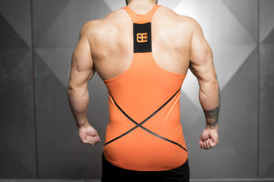 Body Engineers - XA1 Prometheus Stringer – Dutch Orange - Rückseite