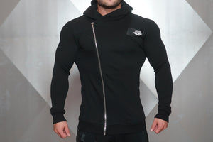Body Engineers - YUREI Vest – All Black - Vorderseite Detail