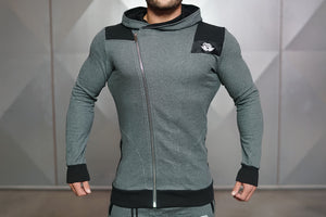 Body Engineers - YUREI Vest – Anthracite - Vorderseite Detail