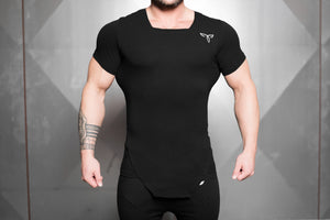 Body Engineers - HUMAN SAVAGE Shirt – Black Out - Vorderseite