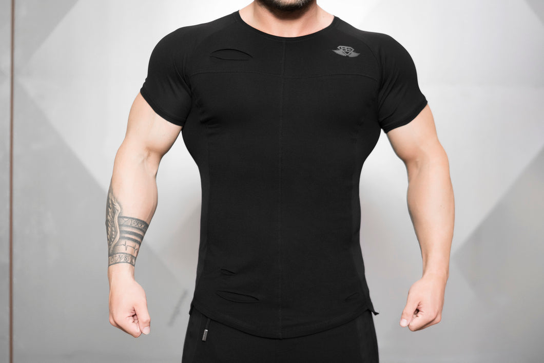 Body Engineers - SVGE FENRIR Prometheus Shirt – Black - Vorderseite