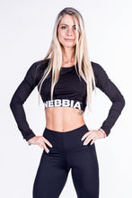 Nebbia - Crop Top - Black (269) - Vorderseite 1