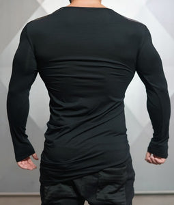 Body Engineers - DC – Enigma Long Sleeve - Black - Rückseite
