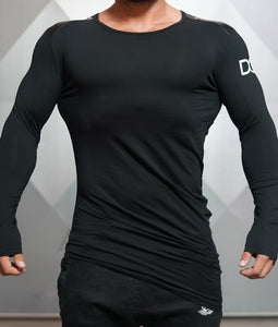 Body Engineers - DC – Enigma Long Sleeve - Black - Vorderseite