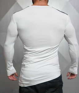 Body Engineers - DC – Enigma Long Sleeve - White - Rückseite