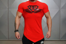 Body Engineers - Engineered Life T 2.0 – Red & Black - Vorderseite