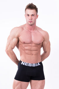 Nebbia - Men's Boxer Shorts - Black (701) - Vorderseite 2