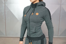Body Engineers - GAIA Hoodie 2.0 – Anthra - Vorderseite