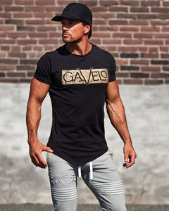 Gavelo - Sports Tee - Black - Detail