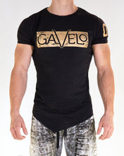 Gavelo - Sports Tee - Black - Vorderseite