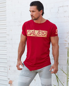 Gavelo - Sports Tee - Red - Gesamt 2