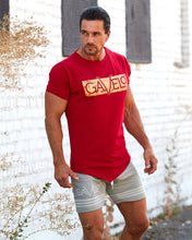 Gavelo - Sports Tee - Red - Gesamt