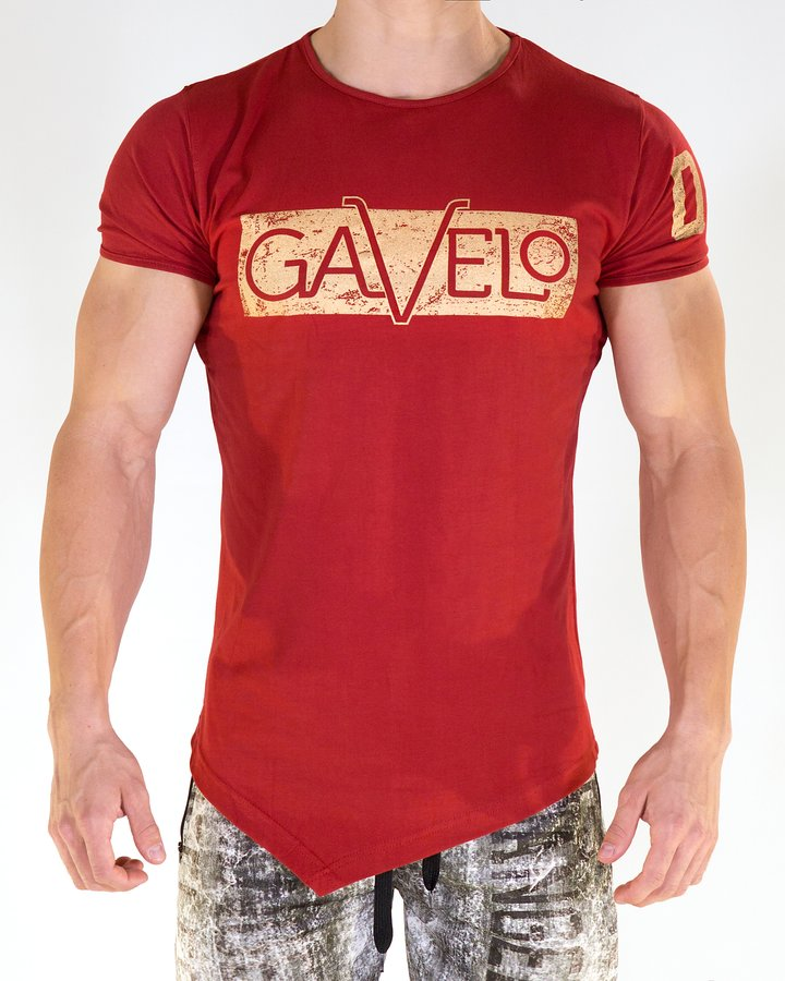 Gavelo - Sports Tee - Red - Vorderseite