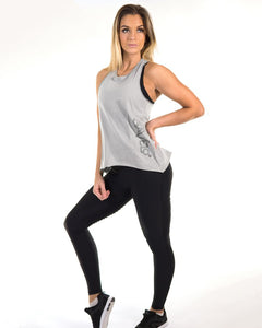 Gavelo - BeautiFly Tank Top - Grey - Vorderseite