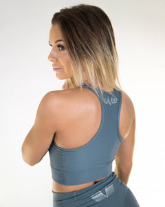 Gavelo - PLAIN Dove Sports Bra - Rückseite