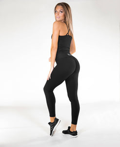 Gavelo - POP Black Scrunch Leggings - Rückseite