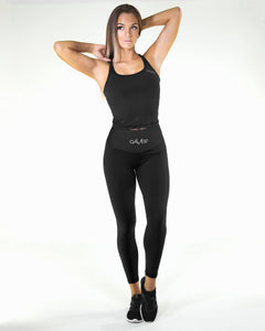 Gavelo - POP Black Scrunch Leggings - Vorderseite
