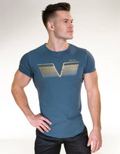 Gavelo - Sports Tee - Ancient Blue - Vorderseite