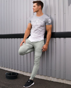 Gavelo - Sports Tee - Grey - Detail