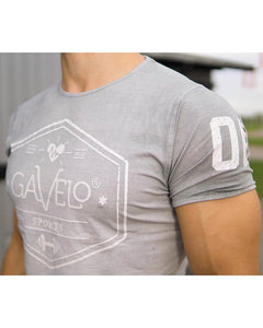 Gavelo - Sports Tee - Grey - Detail 2