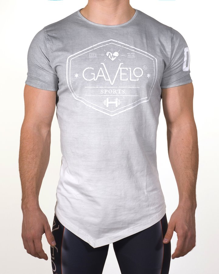 Gavelo - Sports Tee - Grey - Vorderseite
