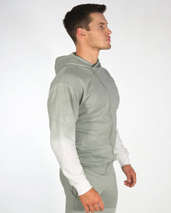 Gavelo - Victory Hoodie - Nude Olive Grey - Seitlich