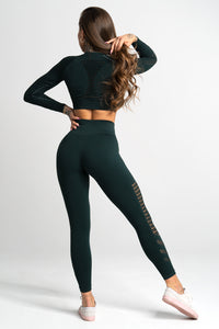 Seamless Leggings - Evergreen
