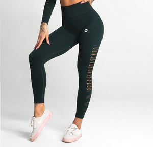 Gym Glamour - Seamless Leggings – Evergreen