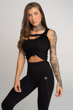 Gym Glamour - Gym Top - Black - Vorderseite 1