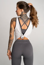 Gym Glamour - Gym Top - Grey - Rückseite 2