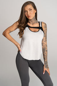Gym Glamour - Gym Top - Grey - Vorderseite