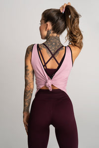 Gym Glamour - Gym Top - Rose - Rückseite