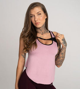 Gym Glamour - Gym Top - Rose - Vorderseite Detail